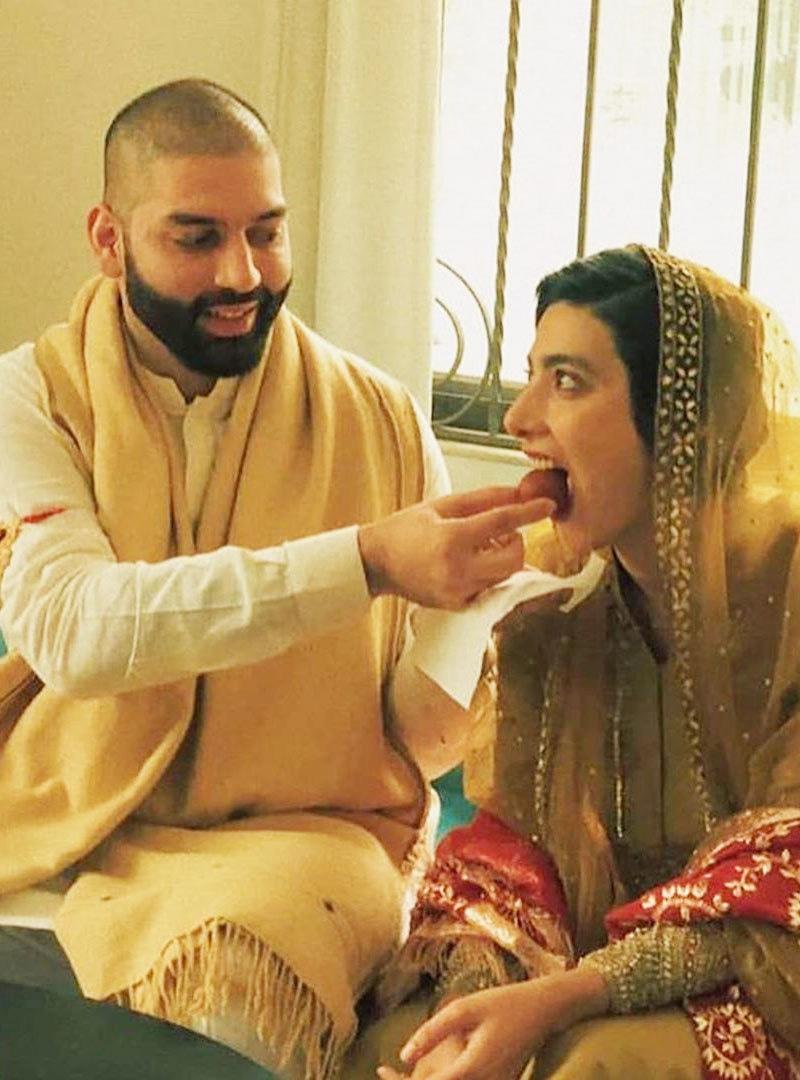 اداکارہ کا تعلق لاہور سے ہے اور ان کے شوہر بھی وہیں کے ہیں—فوٹو: انسٹاگرام