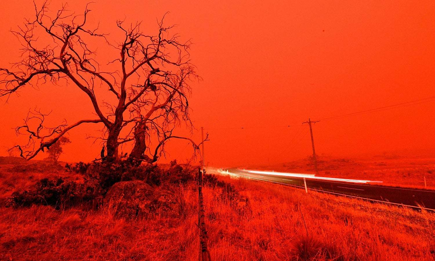 In pictures: Australia burns as wildfires enter sixth day