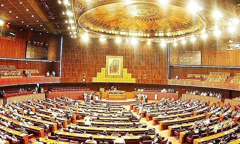 The National Assembly on Monday passed a crucial bill — for exchange of information and criminals with countries — to meet a requirement of the Financial Action Task Force (FATF) after the treasury overcame the opposition's customary resistance in the house. — APP/File