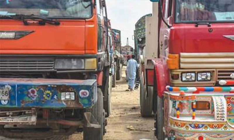 Cargo traffic suspended as goods transporters go on countrywide strike