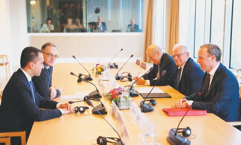 Europe warns Turkey over intervention in Libya