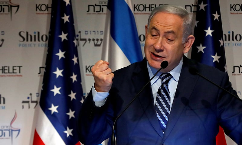 Netanyahu warns of 'resounding blow' if Iran attacks Israel