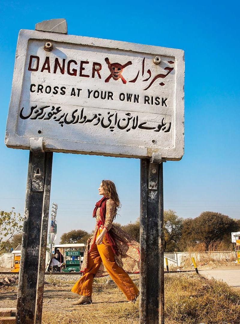 روزی گیبریل پاکستان کے مختلف علاقوں کا دورہ کیا—فوٹو: انسٹاگرام