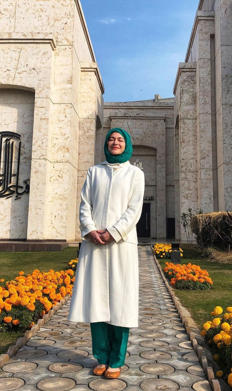 روزی گیبریل نے اسلام قبول کرنے کی پوسٹ سوشل میڈیا پر شیئر کی—فوٹو: انسٹاگرام