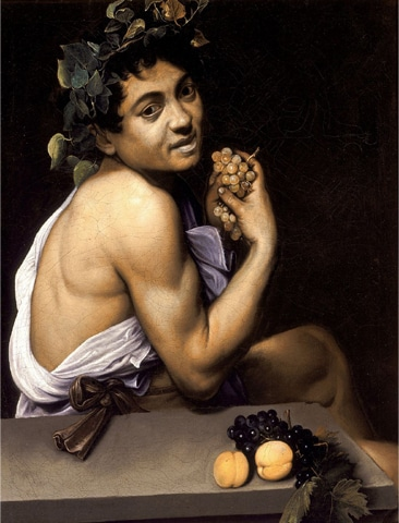 Young Sick Bacchus, Caravaggio