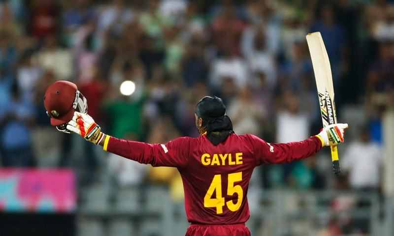 """They say you (cricketers) get presidential security so you're in good hands,"" says Gayle. — AP/File"