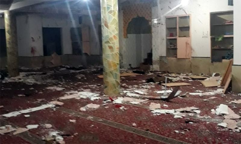 Pakistan mosque blast kills senior police officer, 12 others