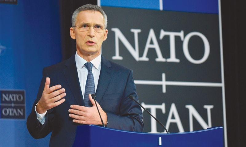 Nato backs Western leaders' allegation that Iranians shot down Ukrainian airliner