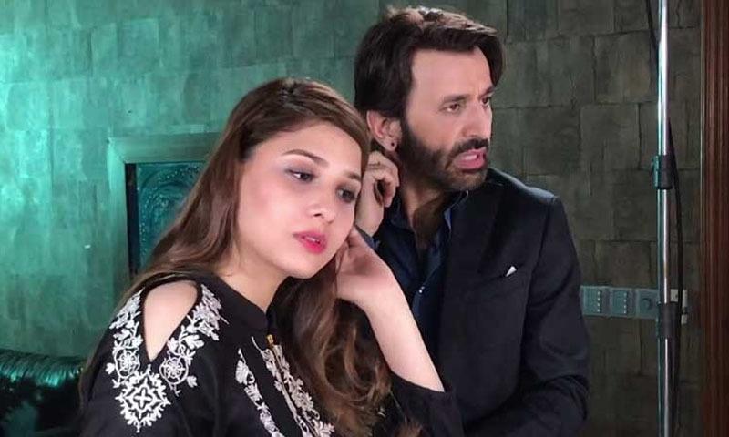 اداکارہ کے مطابق انہوں نے ایک پروجیکٹ میں فیصل رحمٰن کے ساتھ رومانوی سین شوٹ کروایا تھا — فوٹو: انسٹاگرام