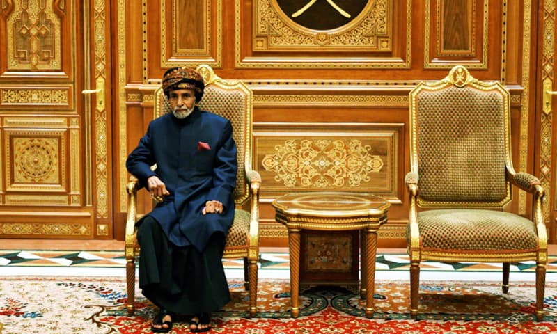 Sultan Qaboos maintained good ties with both Tehran and Riyadh, a balancing act that made his capital a must-stop for Western and Arab diplomats. — AFP