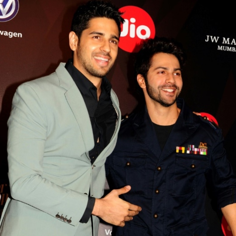 Actors Sidharth Malhotra (L) and Varun Dhawan have both spoken out against the violence. —Photo courtesy: AFP