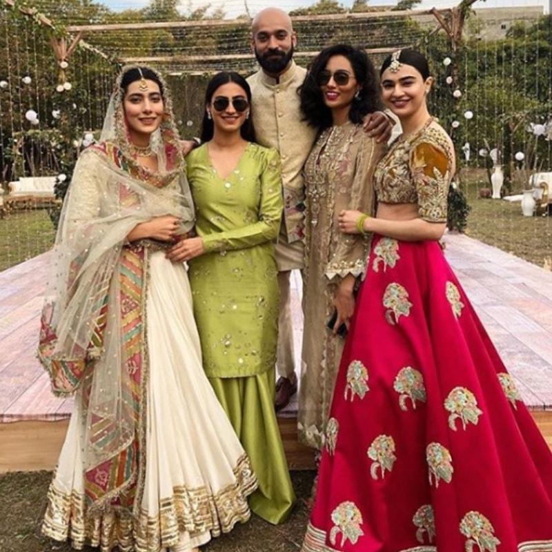 Girl gang! —Photo via @rehmatajmal on Instagram