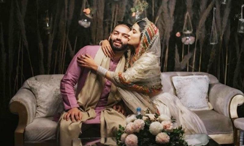 اداکارہ نے 5 جنوری 2020 کو شادی کی تھی—فوٹو: انسٹاگرام