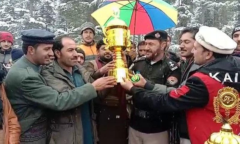 اسنو لیپرڈ نے ٹورنامنٹ جیت لیا—فوٹو:مراد علی خان