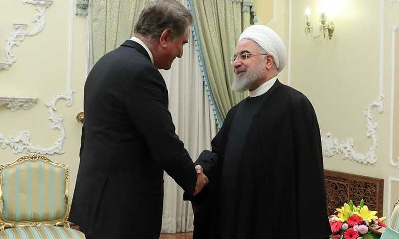 ایران-امریکا کشیدگی: وزیر خارجہ کی ایرانی صدر حسن روحانی سے ملاقات
