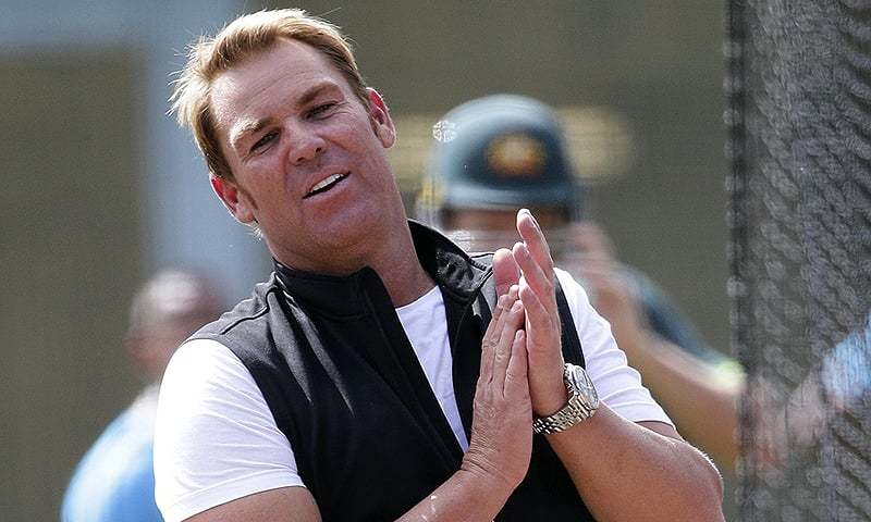 Australia's Shane Warne bowls during a practice session in Sydney. — AP/File