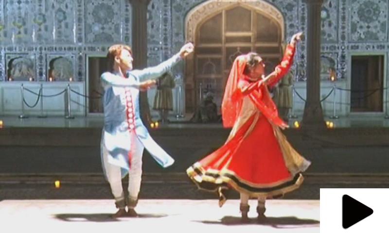 'مغلیہ' فنکاروں کے کلاسیکل رقص نے بادشاہ اورحاضرین کو حیران کردیا