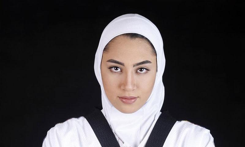 اولمپکس میڈل جیتنے والی ایران کی واحد خاتون نے ملک چھوڑ دیا