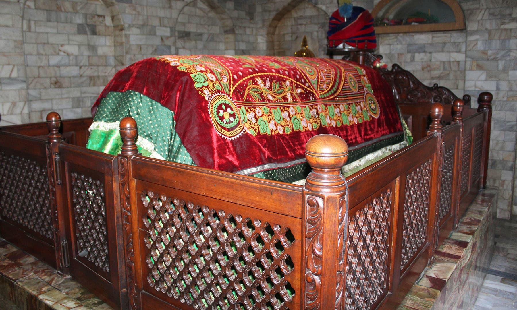 پیر باغ علی مسلم کی قبر