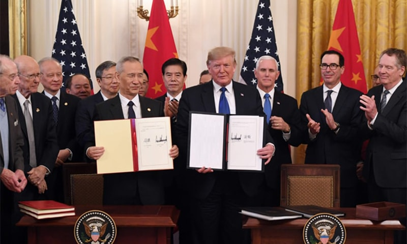 US, China sign 'momentous' trade deal