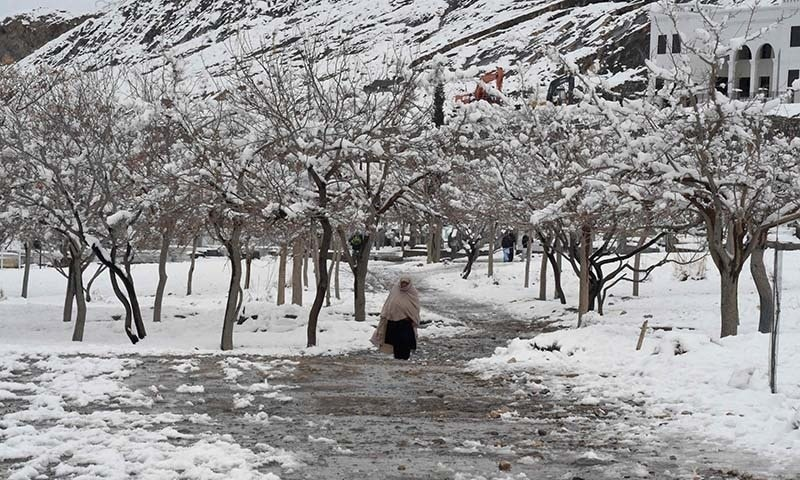 Two girls survive 18 hours under snow in AJK