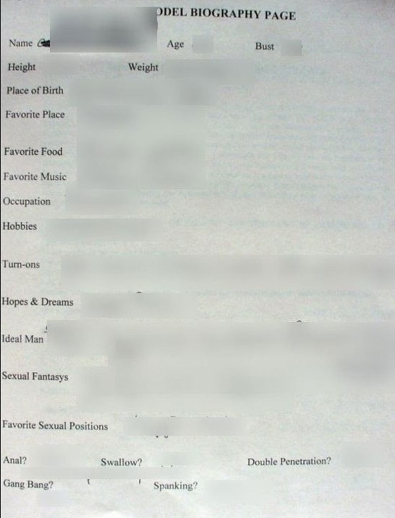 ویب سائٹ نے ماڈلز کی زندگی سے متعلق حساس اور خفیہ معلومات بھی لیک کردی—فوٹو: وی پی این مینٹر