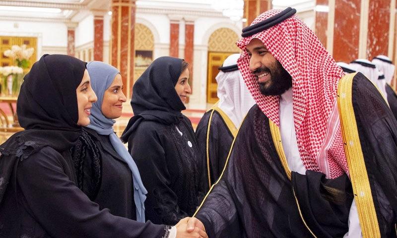 سعودی ولی عہد نے خواتین کے لیے اصلاحات میں اہم کردار ادا کیا—فائل فوٹو: اے ایف پی