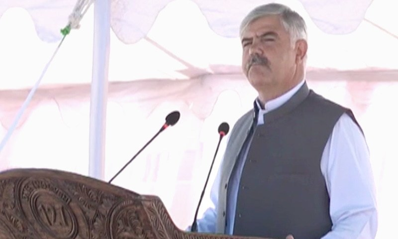 KP Chief Minister Mahmood Khan said sustainable development of merged districts was the top priority of his government. — DawnNewsTv/File