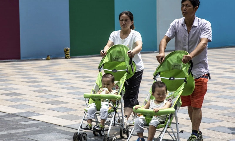 Birth rate in China reached the lowest level in 60 years 2