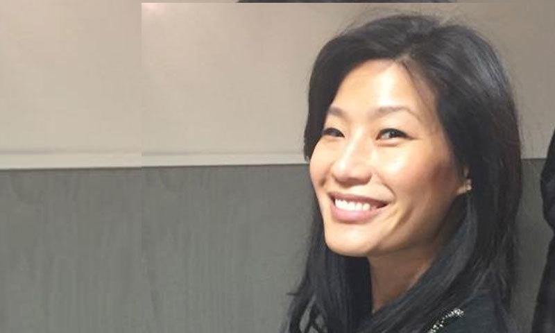 ایولیان لیو یانگ 2 بچوں کی والدہ ہیں—فوٹو: ٹوئٹر
