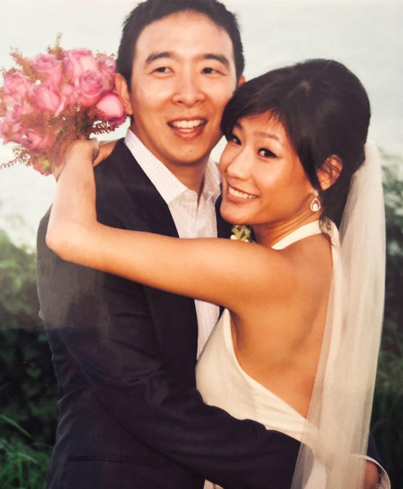 ایولیان لیو  اور اینڈریو نے 2011 میں شادی کی تھی—فوٹو: ٹوئٹر