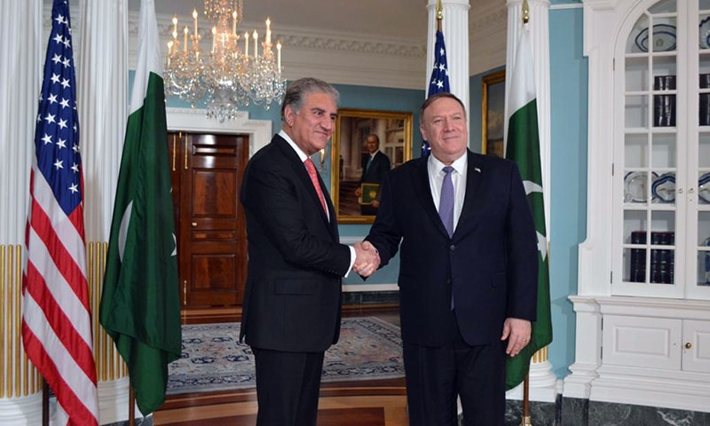 Dream of 'peaceful South Asia' can't be realised until Kashmir is solved, Qureshi tells Pompeo