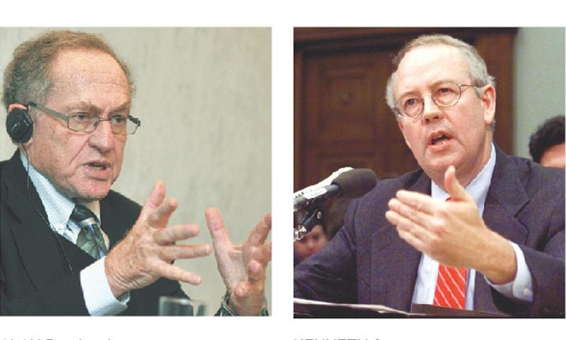 Dershowitz, Starr join Trump's defence team in impeachment trial