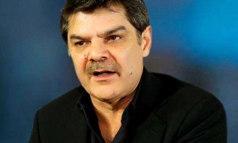 An additional district and sessions judge of Islamabad on Friday issued non-bailable warrants of arrest for TV anchorperson Mubashir Luqman in a criminal complaint filed against him by Anwar Aziz, father of ex-minister Daniyal Aziz, for allegedly using slanderous language. — Mubashir Luqman Twitter/File
