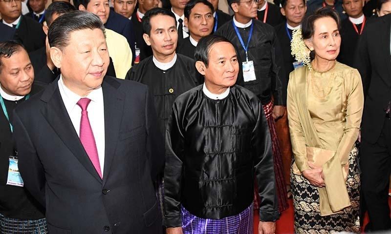 China and Myanmar 'stand together' despite Rohingya backlash
