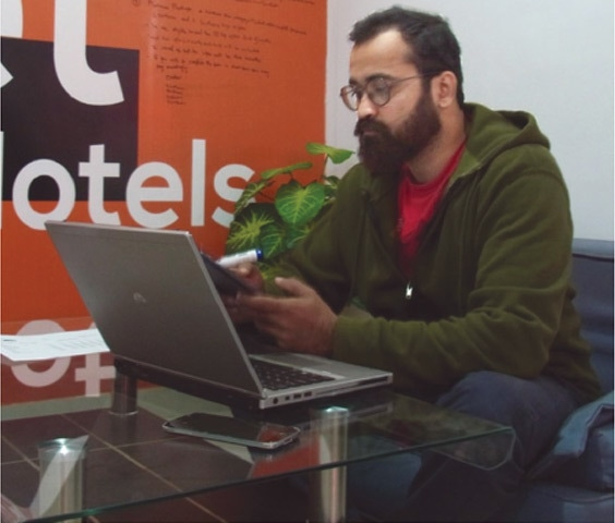 CEO Khizer Ahmed hopes to build an Oyo-inspired standardised hotel brand for the local market.