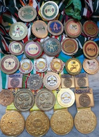 Ather's medal collection