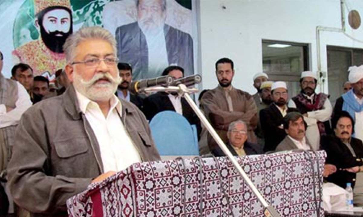 GDA chief Pir Sibghatullah Shah Rashdi alias Pir Pagara. — APP/File