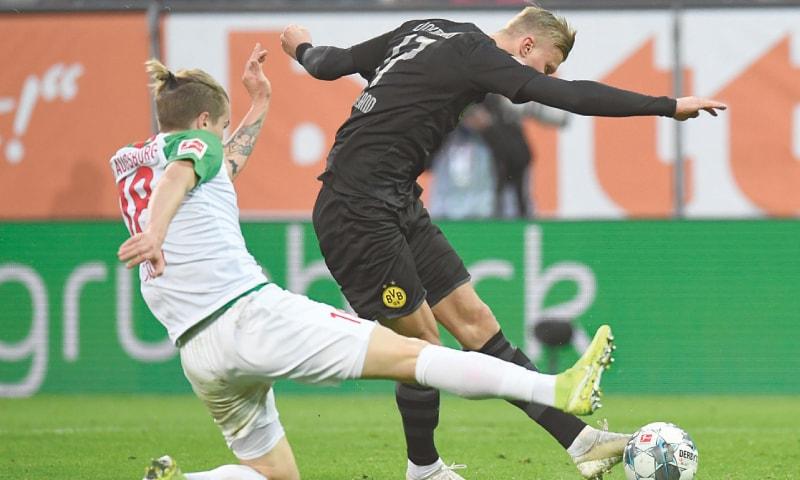 Haaland slams hat-trick on dream debut for Dortmund