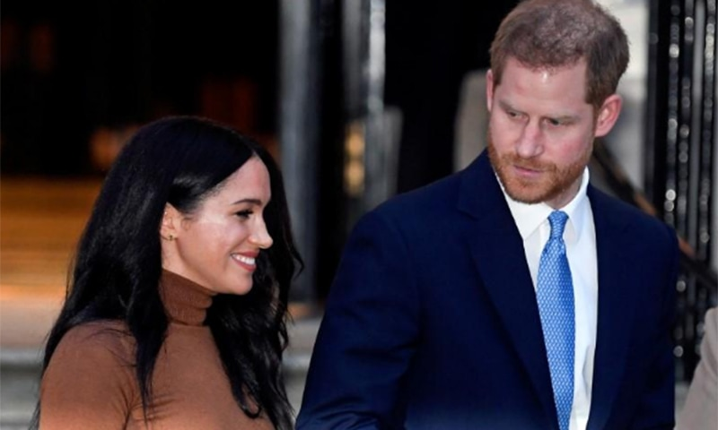 Harry and Meghan begin life as 'ordinary people'