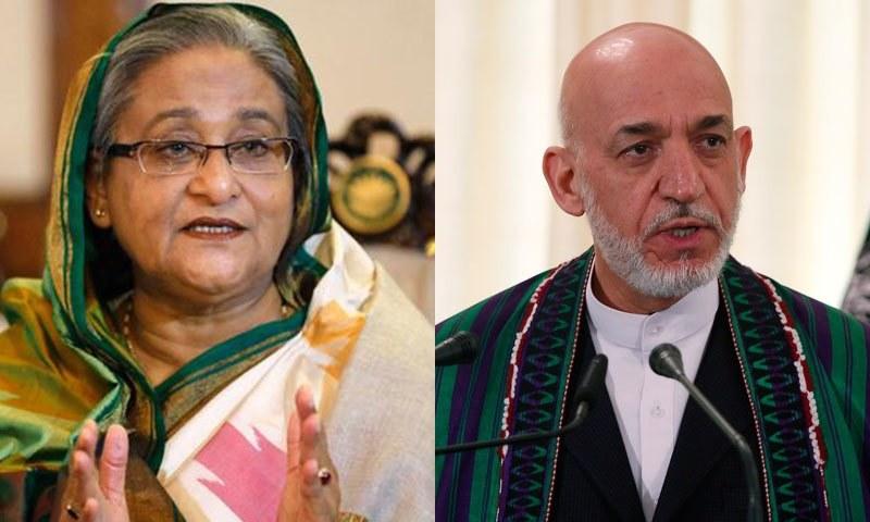 بنگلہ دیشی وزیر اعظم، سابق افغان صدر بھی بھارتی متنازع شہریت قانون کے مخالف