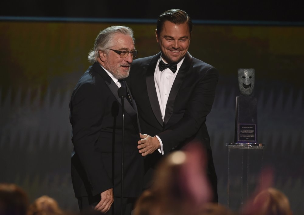 Before presenting Robert De Niro with the SAG Life Achievement Award at the 2020 Screen Actors Guild Awards