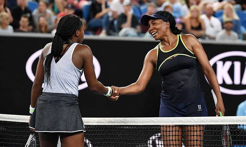 Coco tops Venus at Australian Open