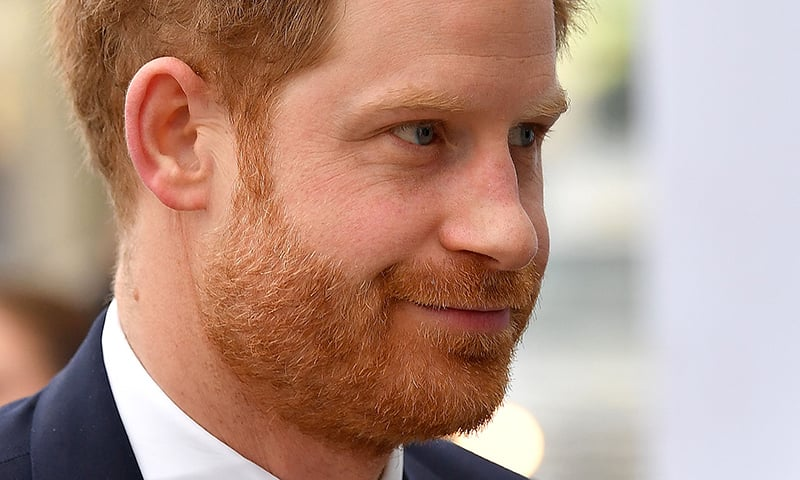 Britain's Prince Harry arrives to attend the UK-Africa Investment Summit in London on Jan 20. — AFP