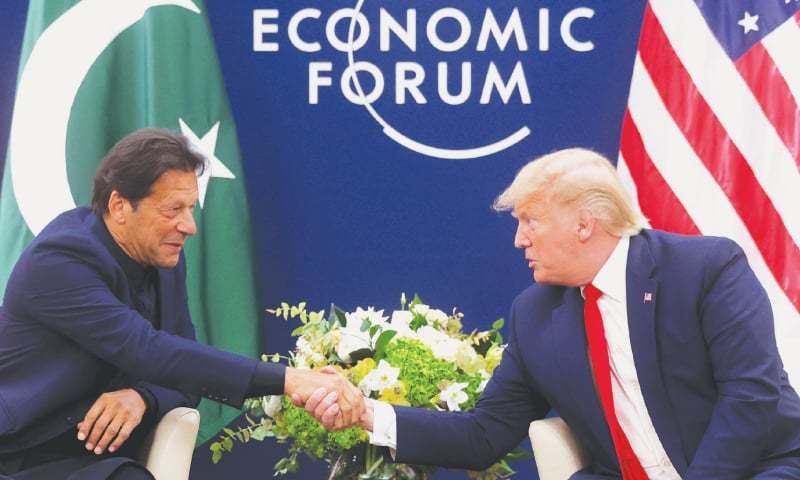 "The meeting between President Trump and Prime Minister Imran was ""productive"", says foreign minister (not pictured). — Reuters/File"