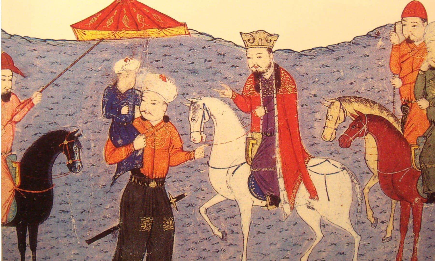 ارغون خان، ایل خانی حکومت کا چوتھا حکمران