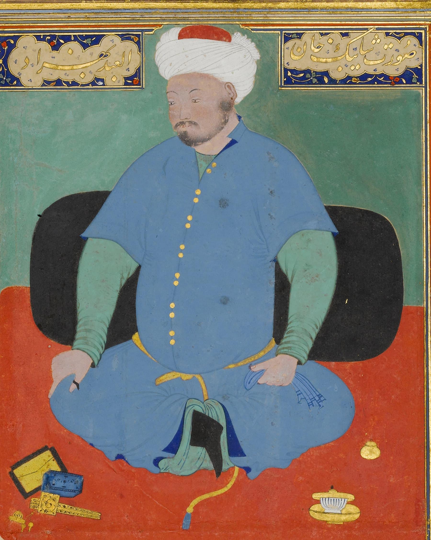 ازبک عسکری رہنما محمد خان شیبانی