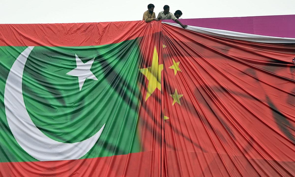The rebuke comes a day after Wells criticised the flagship project of China's One Belt One Road Initiative and alleged that there was no transparency in CPEC projects. — AFP/File