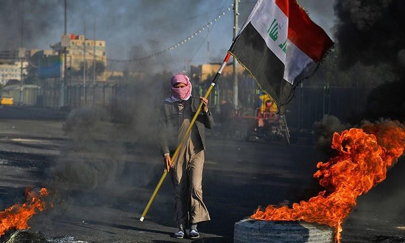 عراق: حکومت مخالف مظاہرے، 2 روز میں 10 افراد ہلاک