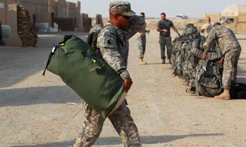 امریکی اور عراقی صدور کی قاسم سلیمانی کی ہلاکت کے بعد پہلی ملاقات تھی—فائل فوٹو: اے پی پی